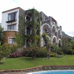 The Posada del Tepozteco is set in beautiful gardens, with two swimming pools