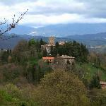 Castello di Petroia is between Scrito and Bellevdere on the road from Perugia to Gubbio.