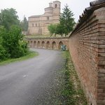  The mausoleum of the Dukes of Urbino ouside the city walls