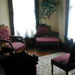The Parlor at the top of the stairs