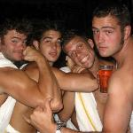  Toga night at Lava Bar