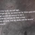 A quote from one of the leaders of the Warsaw Ghetto Uprising