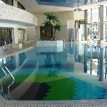 Indoor Pool at the Hotel Croatia