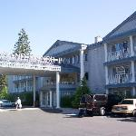  Outside view of the Comfort Inn