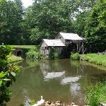 Mabry Mill...just a few miles from The Volunteer Gap Inn