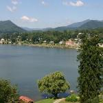  Lake Junaluska - a view from the Lambuth Inn - Terrace Inn on the right