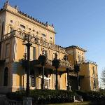 The magnificent Hotel Villa Malpensa