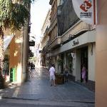 Shopping in Old Town Almeria