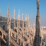  Roof of MIlan&#39;s Duomo