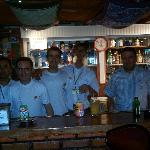some of the friendly staff and boss