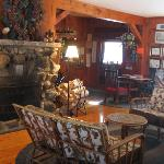  Inside main lodge