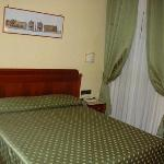 Interior of bedroom, Hotel in Parione
