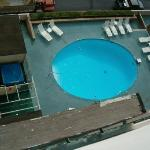  9th Floor View of Pool