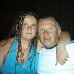 me an my dad in panchos pub benidorm 2005