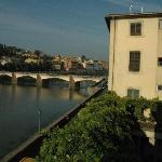 View of the Ponte Vecchio from the bedroom