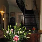 Entry way in main house