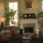 Front room of main house