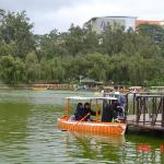 Boating in Burnham Park
