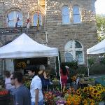 Great Farmers market in downtown Sonoma, walking distance from the  B&B
