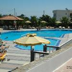 Swimming pool area (to side of hotel)