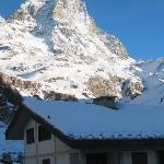 View of the Matterhorn from Hotel Europa