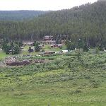  A birdseye view of the ranch