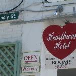  Is it a coincidence that Heartbreak Hotel is on Lonely Street?