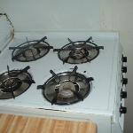 the stove in our room