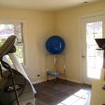 the fitness room filled with essential equipment for every workout