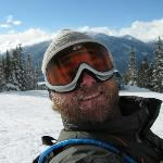  Self portrait from the upper mountain
