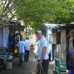 Craft market in Montego Bay, Jamaica