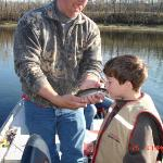 Guided trout fishing trip