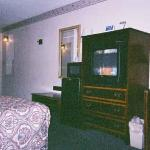 Color TV (with over 60 cable channels), microwave and refrigerator in Room 205.