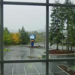 View looking from my window (front parking lot)
