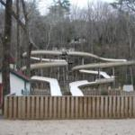 Twin Water Slides
