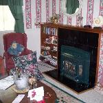  Fireplace in the Cottage
