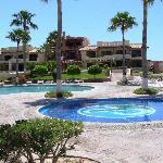 Pinacate Pool Area