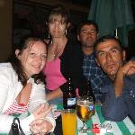 Me, Susie, Halim & Seref enjoying a night out at Blue Bay
