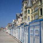  Wimereux - beach huts on seafront