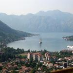 Square rigger in Kotor Bay
