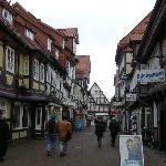 Old town centre in Celle