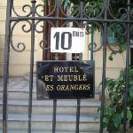 Photo de Hotel les Orangers