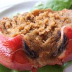 One of Faes wonders - stuffed crab for breakfast