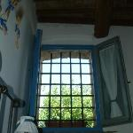 Blue Apartment Window