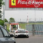 F430 entering Pista di Fiorano