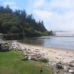 Siletz Bay Park to the Left