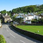 View of Near Sawrey from bedroom