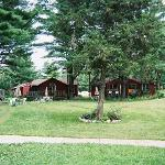 The cabins at Rainbow Valley Resort