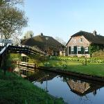 Early morning in Giethoorn