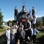 Kamloops Heritage Railway - Steam Train Foto